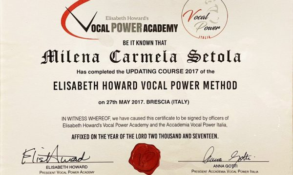 VOCAL POWER ACADEMY